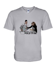 You Just Fold It In V-Neck T-Shirt thumbnail