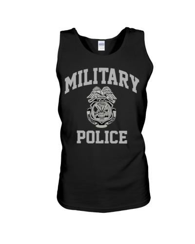 military police  Colorblock Hoodie