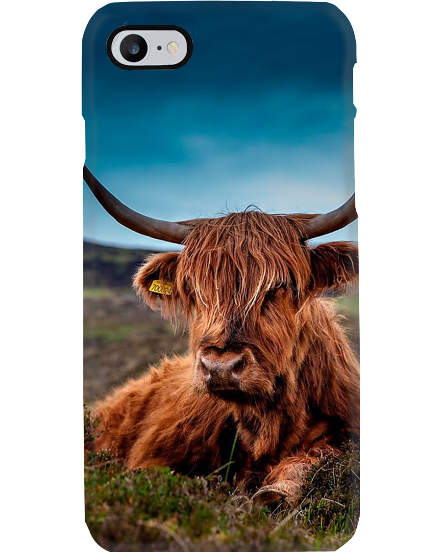 AWESOME HIGHLAND COW PHONECASE  Phone Case