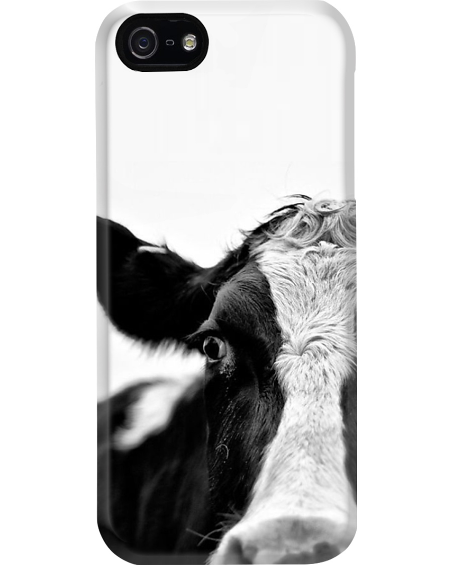 BEAUTIFUL HOSTEIN COW PHONECASE