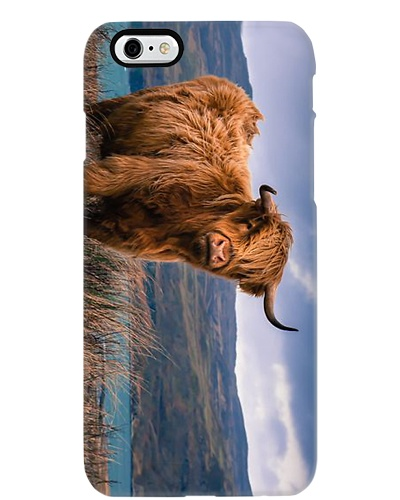 AWESOME HIGHLAND COW PHONECASE