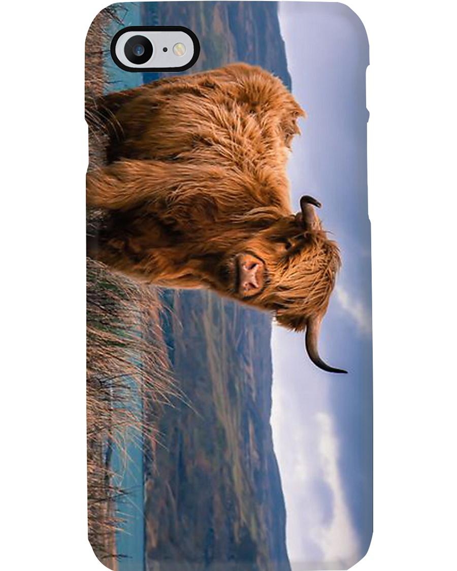AWESOME HIGHLAND COW PHONECASE Phone Case