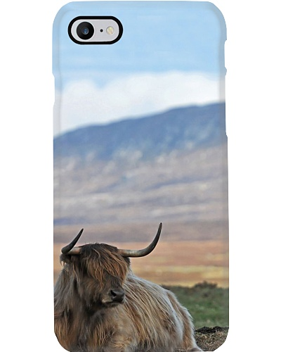 HIGHLAND COW PHONECASE
