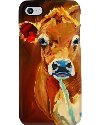 WATER COLOR JERSEY COW PHONE COVER