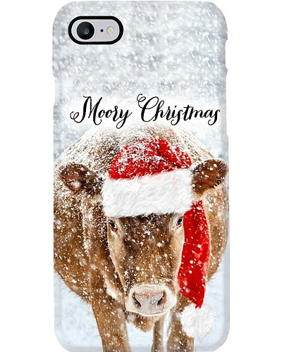 MOORY CHRISTMAS  COW PHONECASE