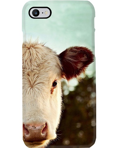 HEREFORD COW PICTURE  PHONECASE
