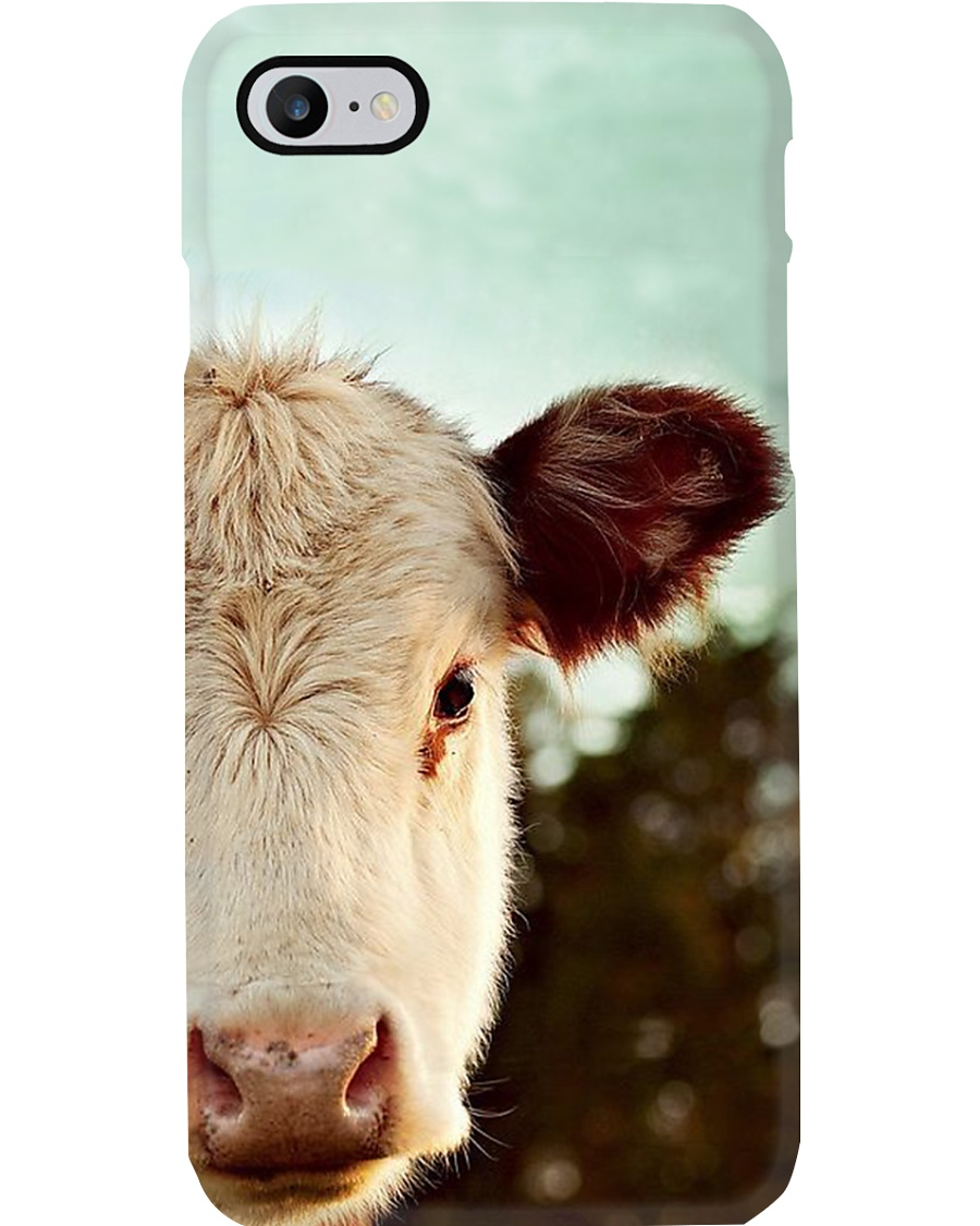 HEREFORD COW PICTURE  PHONECASE Phone Case