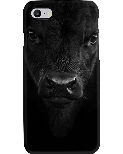 SOLID BLACK ANGUS PHONECOVER