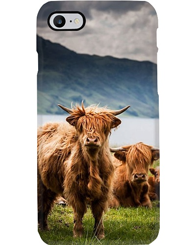 HIGHLAND CATTLE LOOK PHONECASE