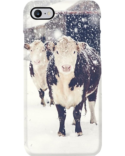 AWESOME CHRISTMAS HEREFORD PHONECASE GIFT