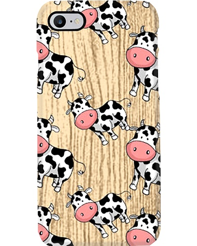 CUTE FUNNY COW CARTOON CASE