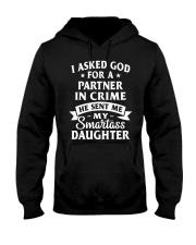PARTNER IN CRIME DAUGHTER Hooded Sweatshirt front