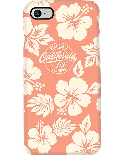 California 69 hawaiian Hibiscus smartphone case