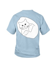 Ugly Draw Cat Youth T-shirt for children Youth T-Shirt back