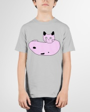 Poorly Draw Cat T-Shirt Design Youth T-Shirt garment-youth-tshirt-front-01