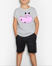 Poorly Draw Cat T-Shirt Design Youth T-Shirt lifestyle-youth-tshirt-front-1