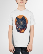 Cat Music Young T-shirt for Children Youth T-Shirt garment-youth-tshirt-front-01