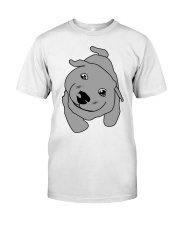 Ugly Draw Dog T-shirt Designs Classic T-Shirt tile