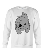 Ugly Draw Dog T-shirt Designs Crewneck Sweatshirt thumbnail