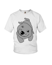 Ugly Draw Dog T-shirt Designs Youth T-Shirt front
