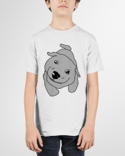 Ugly Draw Dog T-shirt Designs Youth T-Shirt garment-youth-tshirt-front-01