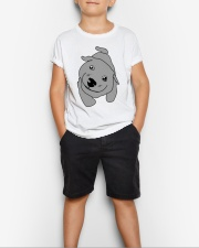 Ugly Draw Dog T-shirt Designs Youth T-Shirt lifestyle-youth-tshirt-front-1