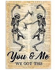 Skull You And Me 16x24 Poster front