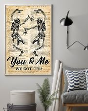 Skull You And Me 16x24 Poster lifestyle-poster-1