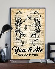 Skull You And Me 16x24 Poster lifestyle-poster-2
