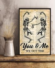 Skull You And Me 16x24 Poster lifestyle-poster-3