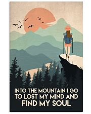 Hiking Find My Soul 16x24 Poster front