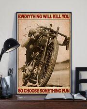 Biker So Choose Something Fun 16x24 Poster lifestyle-poster-2