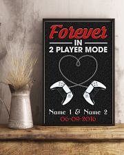 Family Forever In 2 Player Mode 24x36 Poster lifestyle-poster-3