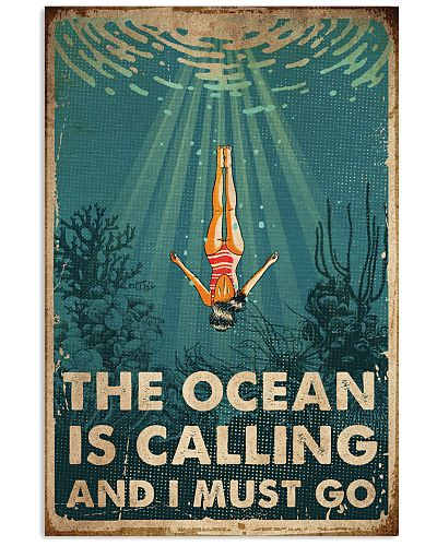 Swimming The Ocean Is Calling