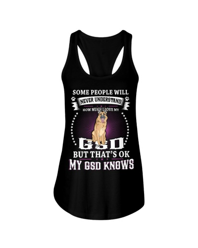 My GSD knows