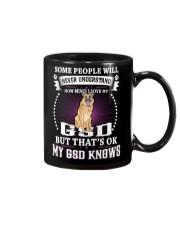 My GSD knows Mug thumbnail