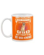 My GSD knows Mug back