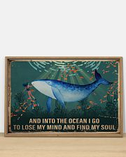 Ocean Find My Soul 36x24 Poster poster-landscape-36x24-lifestyle-03