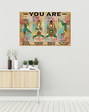 Yoga You Are Brave 36x24 Poster poster-landscape-36x24-lifestyle-01