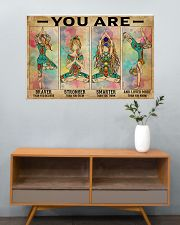 Yoga You Are Brave 36x24 Poster poster-landscape-36x24-lifestyle-21