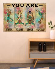 Yoga You Are Brave 36x24 Poster poster-landscape-36x24-lifestyle-22