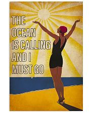 The Ocean Is Calling 16x24 Poster front