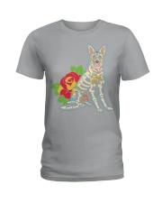 German shepherd Ladies T-Shirt thumbnail