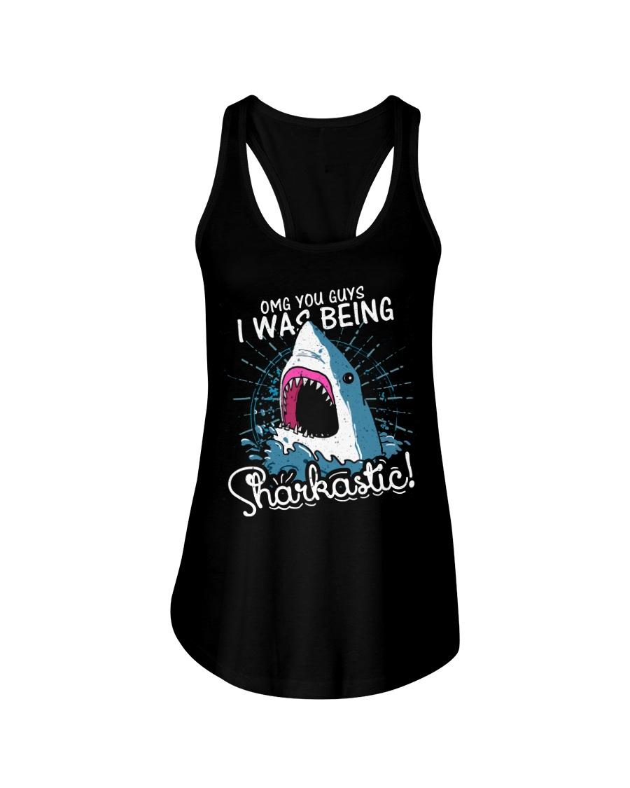 I was being sharkastic Ladies Flowy Tank