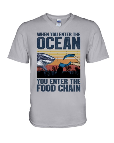 Shark You Enter The Food Chain