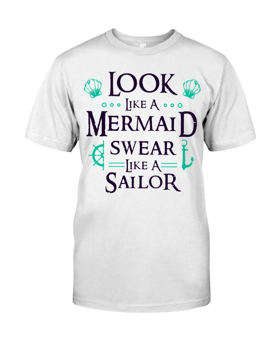 Look like a Mermaid Classic T-Shirt