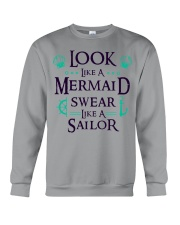 Look like a Mermaid Crewneck Sweatshirt thumbnail