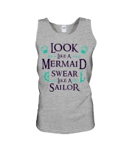 Look like a Mermaid Unisex Tank thumbnail
