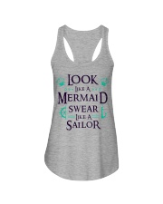 Look like a Mermaid Ladies Flowy Tank thumbnail