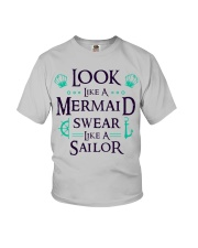 Look like a Mermaid Youth T-Shirt thumbnail